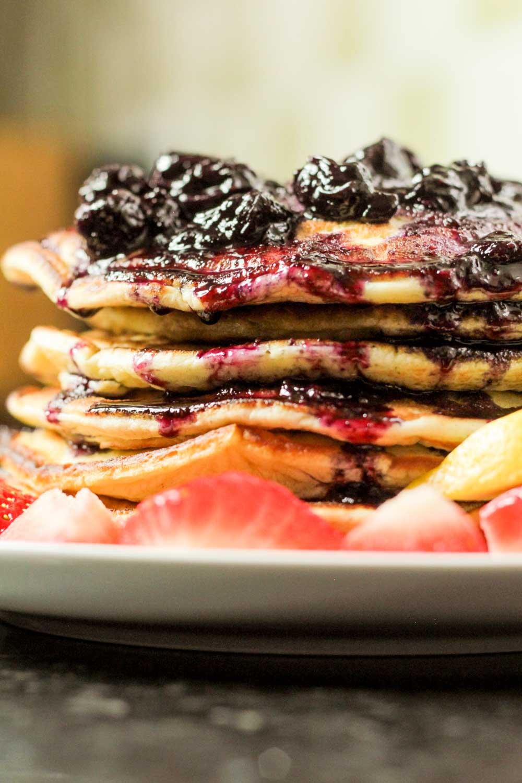American Fluffy Pancakes-8 - Globe Scoffers | globescoffers.com