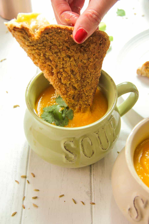 Carrot and Fennel Soup-10 - Globe Scoffers | globescoffers.com