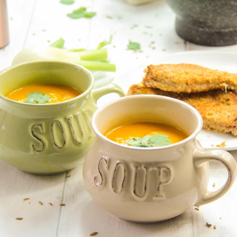 Carrot and Fennel Soup-6 - Globe Scoffers | globescoffers.com