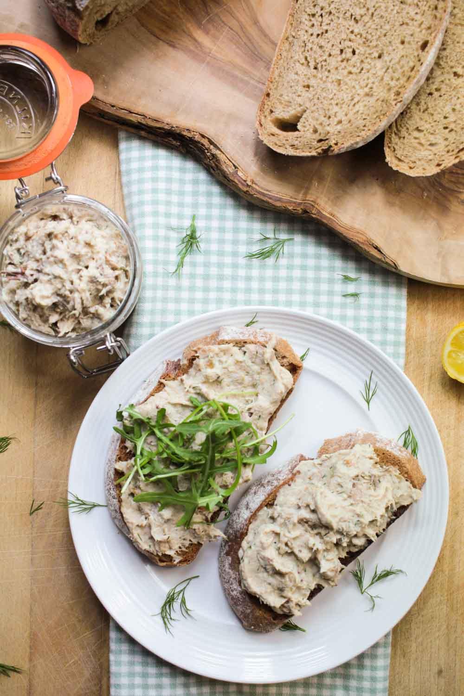 Mackerel Pâté Recipe - Globe Scoffers | globescoffers.com