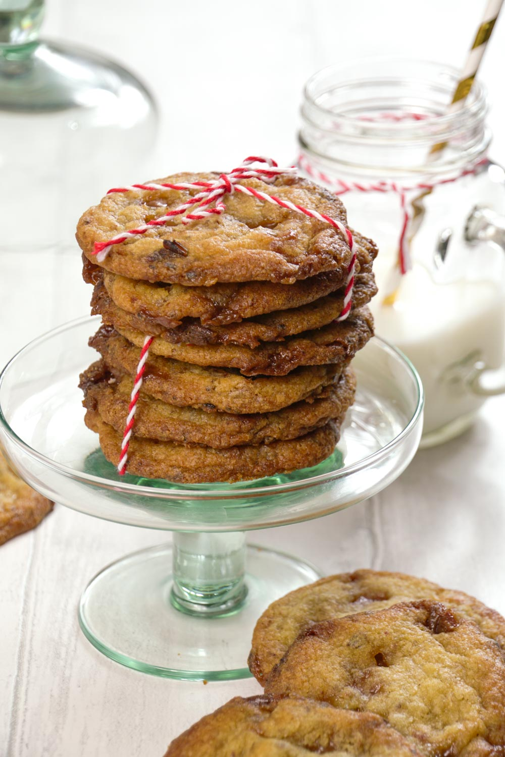 Sticky Toffee and Date Cookies-4 - Globe Scoffers | globescoffers.com