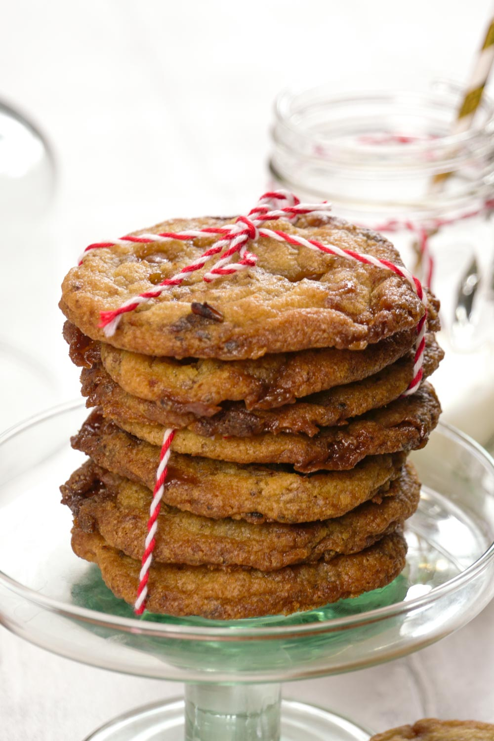 Sticky Toffee and Date Cookies-7 - Globe Scoffers | globescoffers.com