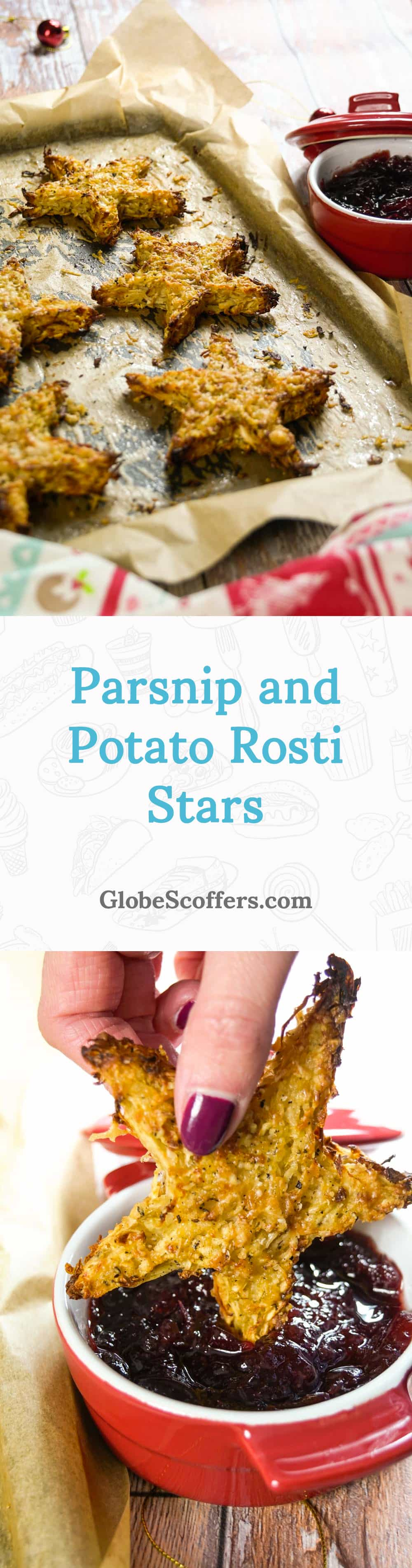 Parsnip and Potato Rosti Stars
