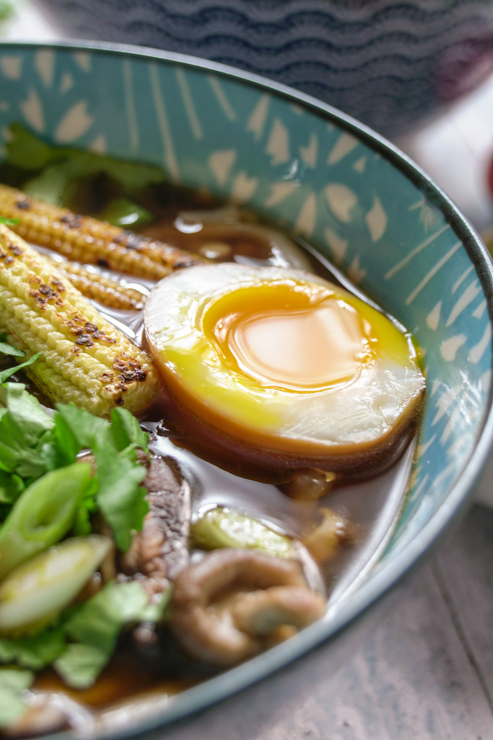 Soy Marinated Soft Boiled Eggs (Ajitsuke Tamago) Recipe - Globe Scoffers | globescoffers.com