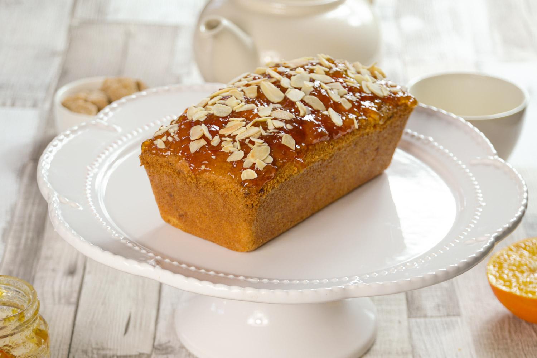 Orange and Almond Loaf Cake with a Marmalade top-3 - Globe Scoffers | globescoffers.com