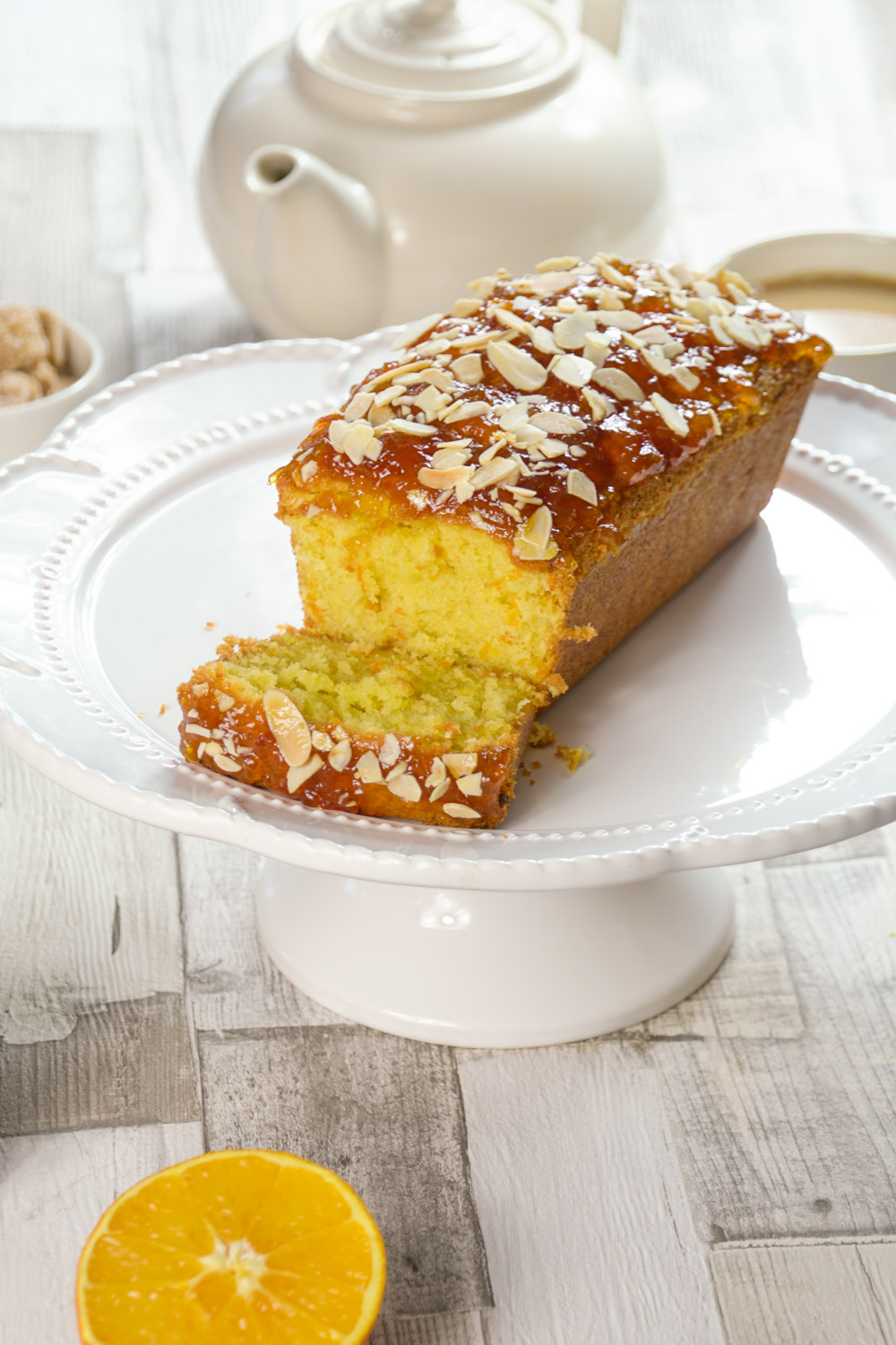 Easy Marmalade Loaf Cake Recipe - Globe Scoffers | globescoffers.com