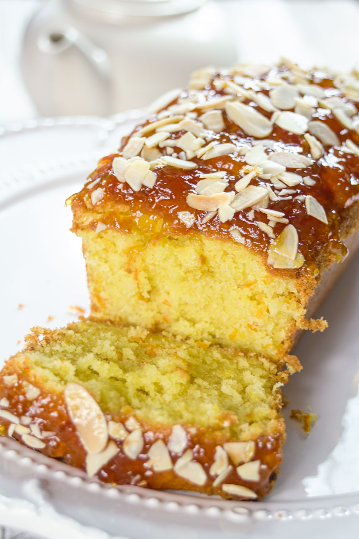 Orange and Almond Loaf Cake with a Marmalade top-9 - Globe Scoffers | globescoffers.com