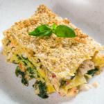 Prawn, Crab, Crayfish and Spinach Lasagne