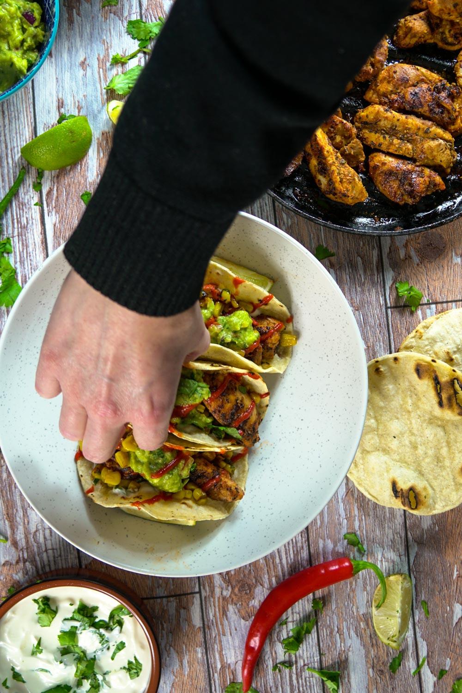 Super Spicy Chicken Tacos