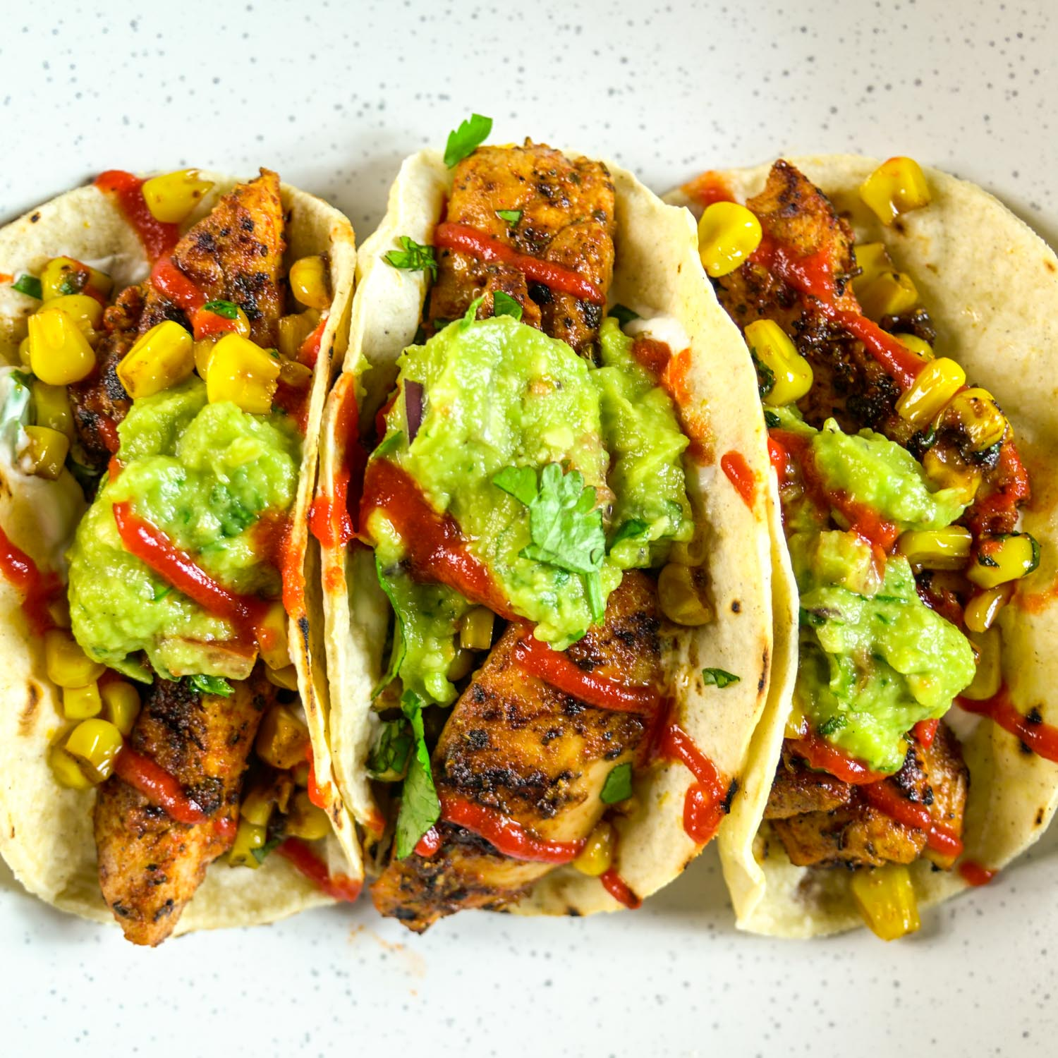 Super Spicy Chicken Tacos