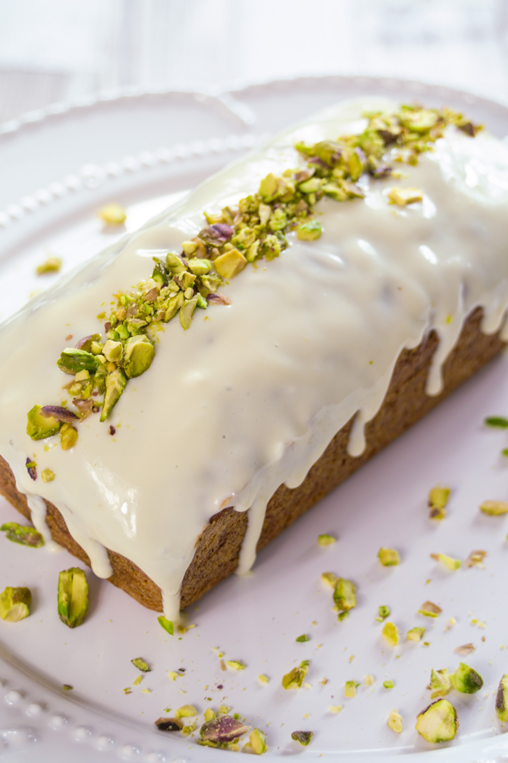 Courgette and Lemon Loaf Cake With Maple Icing Recipe - Globe Scoffers | globescoffers.com