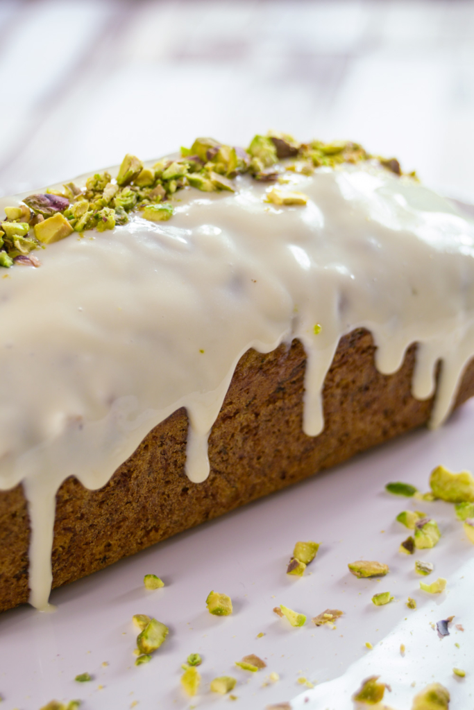 Courgette and Lemon Loaf Cake