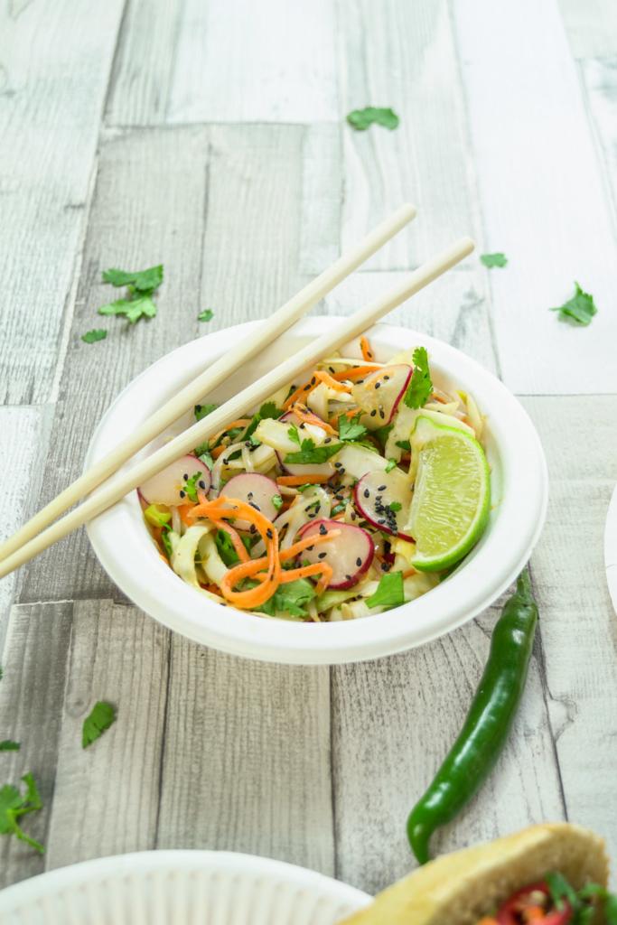 Vietnamese Street Food, Lemongrass Beef Baguette