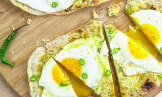Indian Egg Flatbread