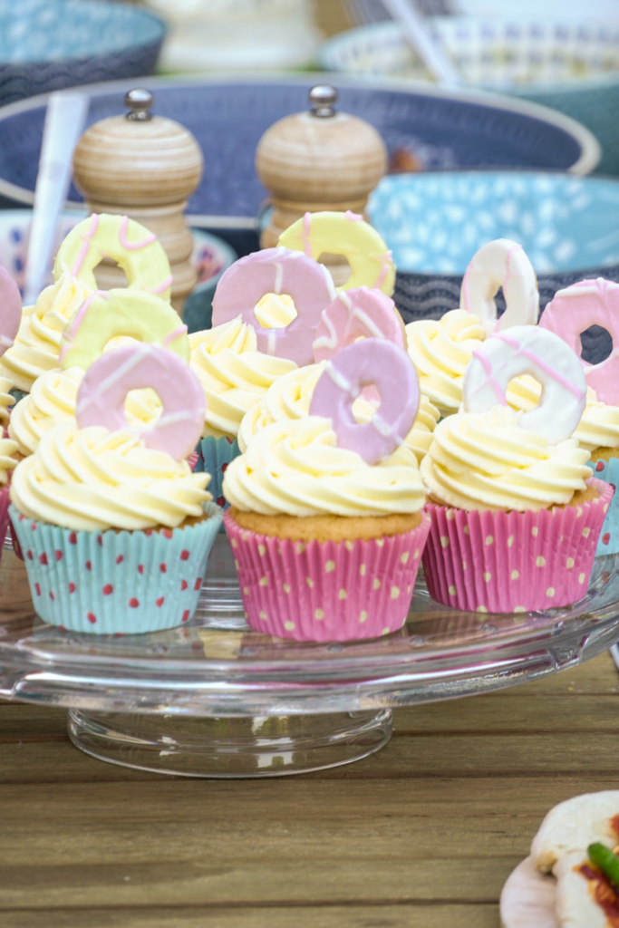 Party Ring cupcakes