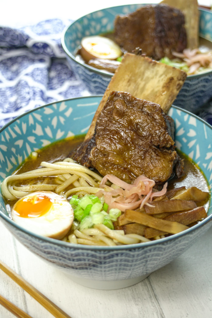 Beef Short Rib Curry Udon