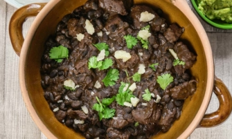 Chunky Beef and Black Bean Chilli
